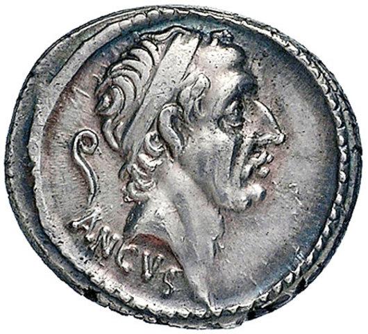 Anco Marcio: Cuarto Rey de Roma (642a.C - 617a.C)