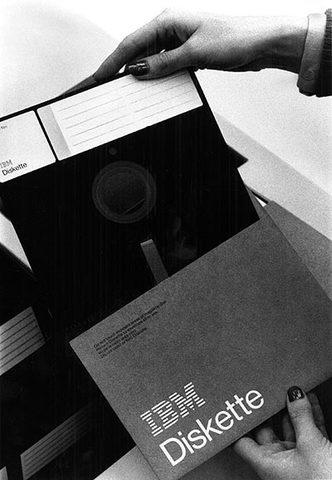 Invento del diskette