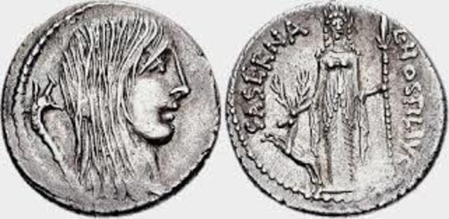 Tulio Hostilio tercer rey (673a.c)