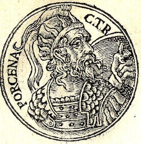 508 a.c. Lars Porsena ataca Roma