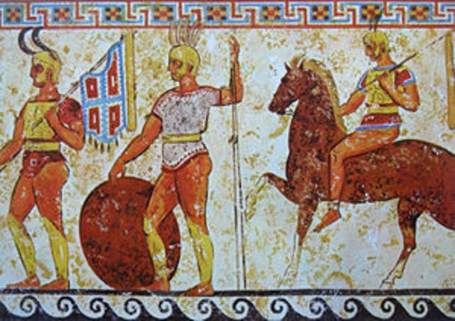 343 a.c. Primera Guerra Samnita
