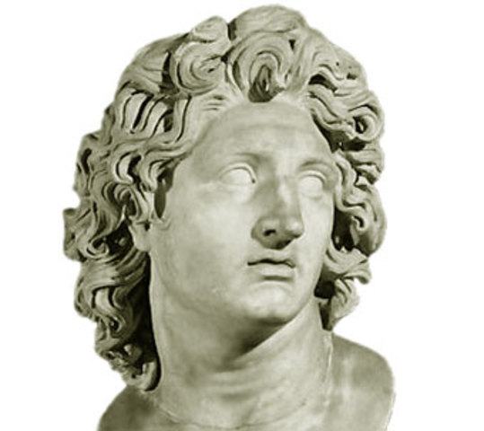 323 a.c. Muerte de Alejandro Magno
