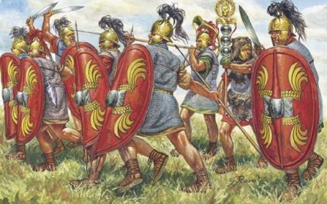 275 a.c. Los romanos derrotan a Pirro en Benevento