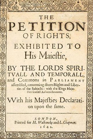 La tradición jurídica inglesa, y las declaraciones  de derechos de las ex colonias inglesas  de Norteamérica