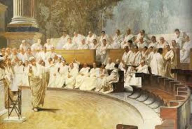 La Monarquia: El senado 753 al 520 a.C