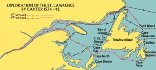 Jacques Cartier's Voyages