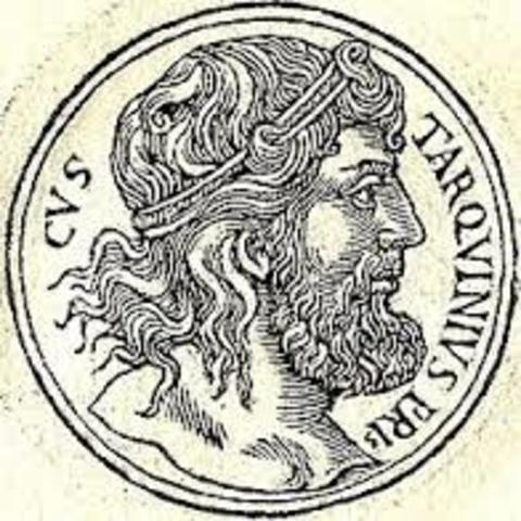 Tarquino el antiguo quitno rey año: 600 a.c.