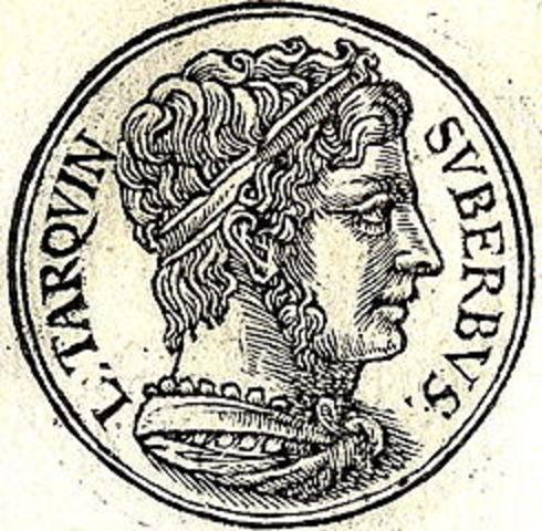 Traquino el Soberbio Ultimo rey, año: 534 a.c.