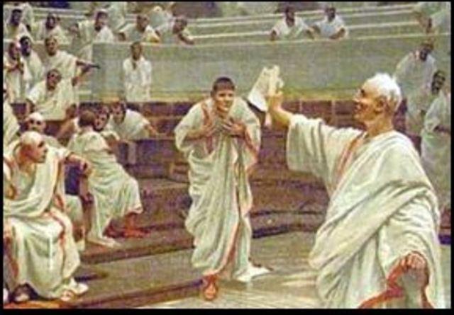 19 a.c. Augusto obtiene el cosulado vitalicio y la censura