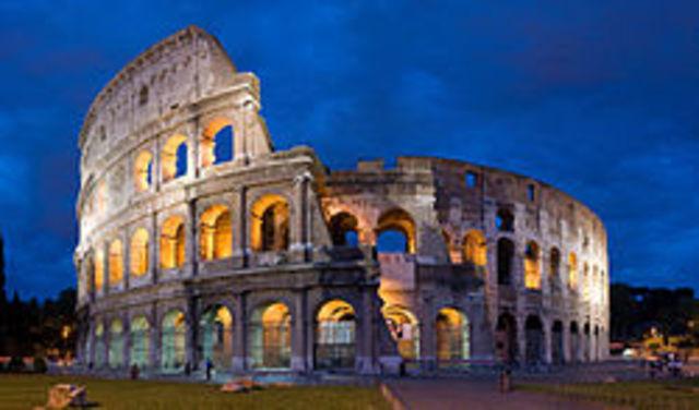 70 d.c. Empiezan las obras de construcción del Coliseo,