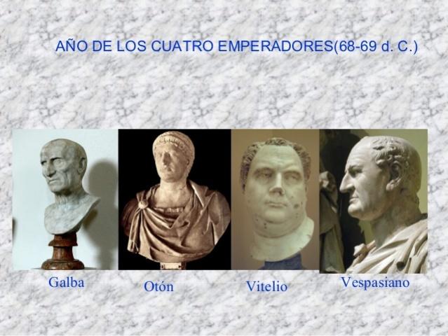 69 d.c. El Año de los cuatro emperadores.