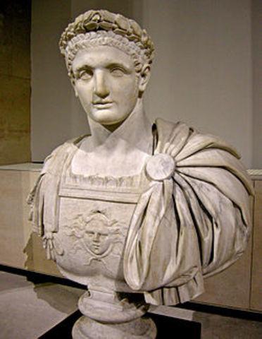 81 d.c.   Domiciano Emperador.