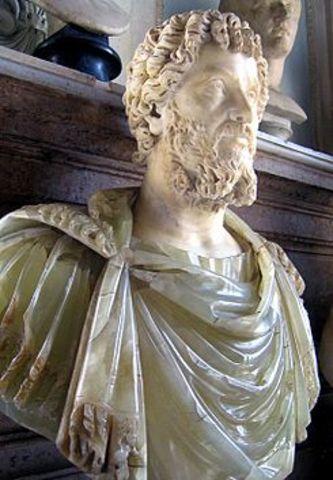 Septimio Severo, Emperador.