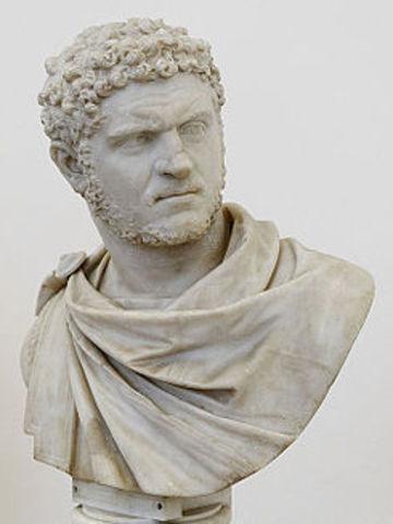 Caracalla emperador de Roma