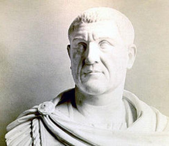 Maximino el Tracio es emperador