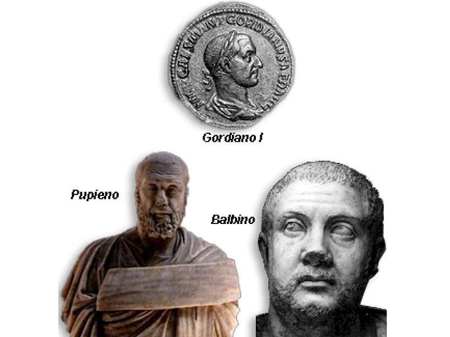 Emperadores Pupieno y Balbino