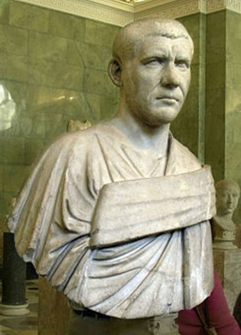 Filipo el Árabe, Emperador.