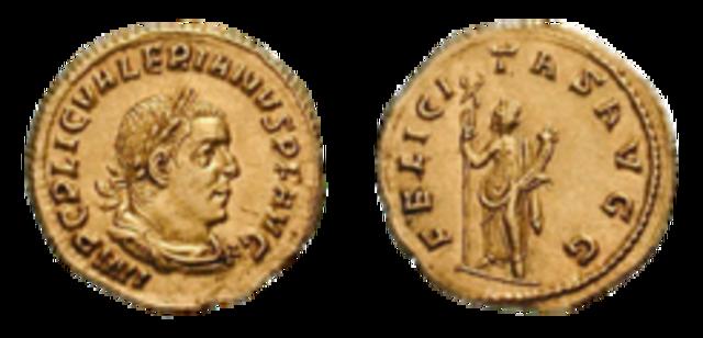 Valeriano, Emperador.