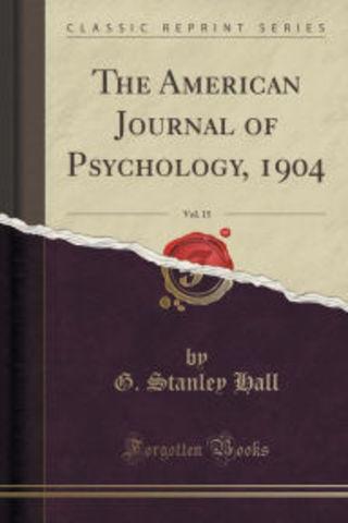 Amercian Journal of Psychology