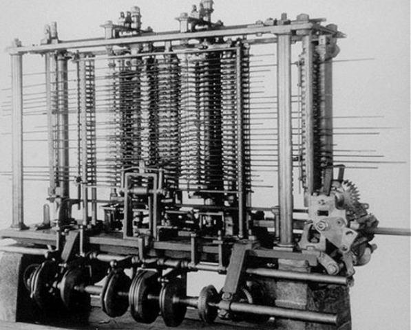 Charles comienza el diseño de computadoras