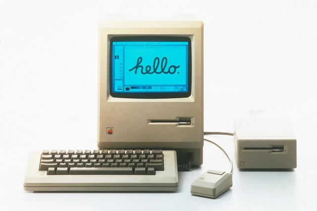 First Apple Macintosh Computer
