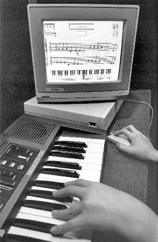The Amiga 1000 (A1000) COMPUTER