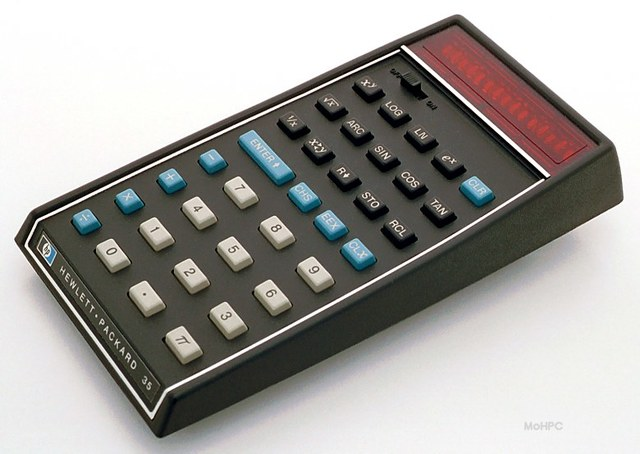 The Invention of the HP-35