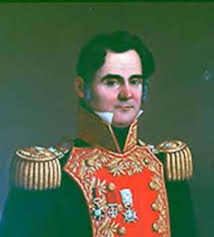 ley de colonizacion expedida por Anastacio Bustamante