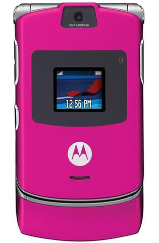 Motorola RAZR V3 Magenta