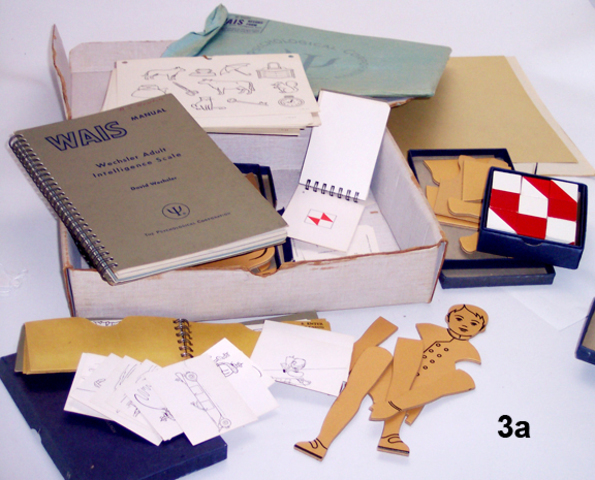Material de la prueba WAIS [1955]