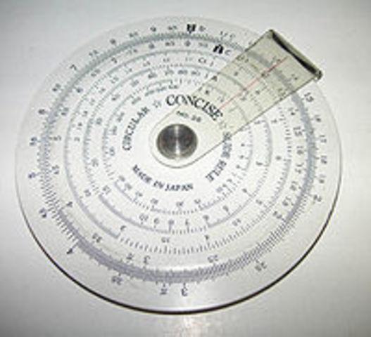 Regla de calculo circular