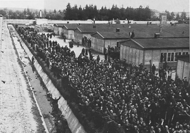 First Concentration Camp Built