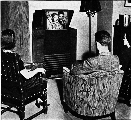 Beginning of commercial televison