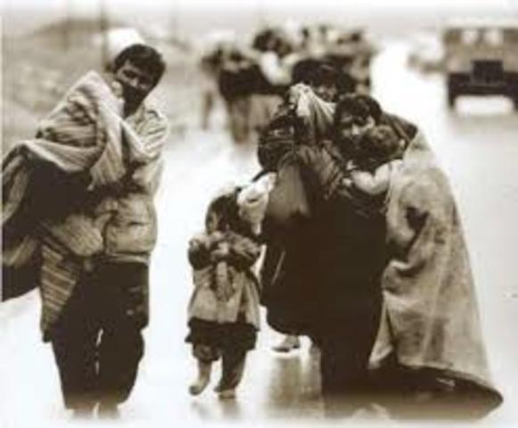 Derechos humanos posteriores/ convencion sobre la posicion de los refugiados.