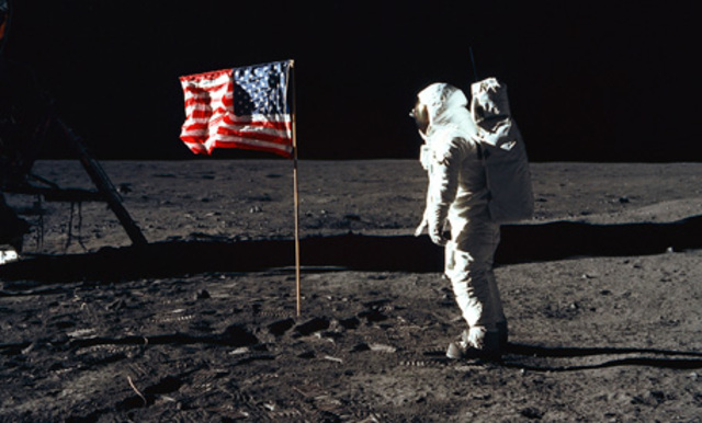Neil Armstrong walks on the moon - 720 million viewers