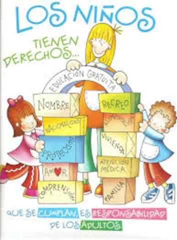 Convención sobre los derechos del niño 20 NOV 1989