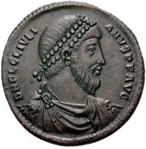 Juliano el Apóstata emperador de Roma