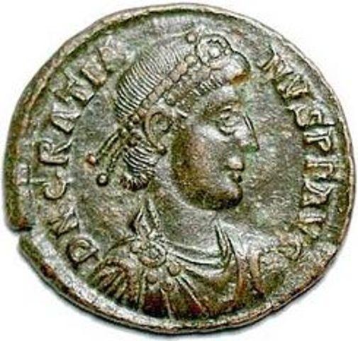 Graciano emperador de Roma
