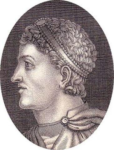 Teodosio I el Grande emperador Romano de Oriente