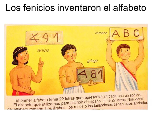 Abecedario Griego 900 A.C.