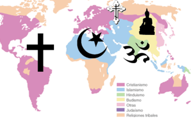 550 d.C. Religiones en el mundo