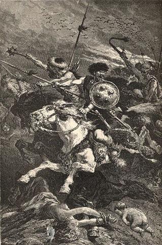 Batalla de los Campos Cataláunicos.