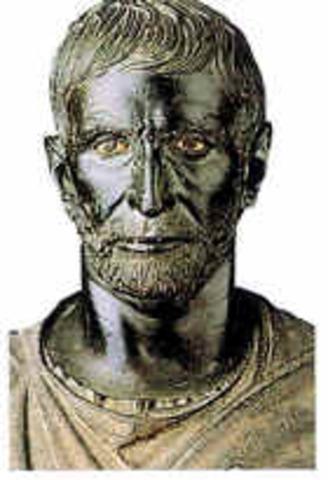 Inicio del Gob. de Tarquinio el Soberbio en 534 a.C.