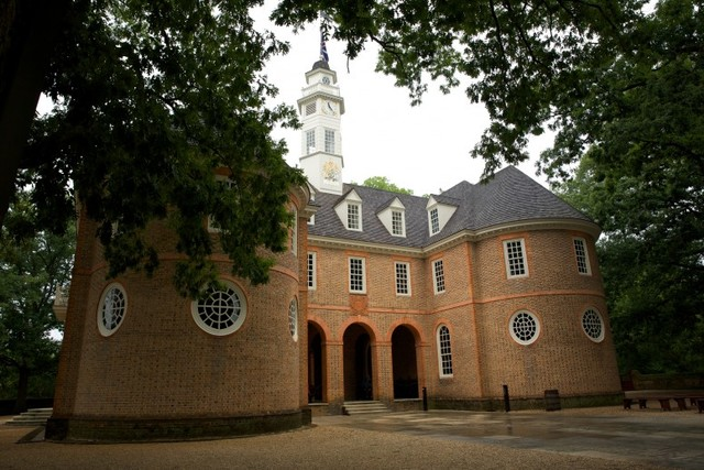 First Meeting of the House of Burgesses