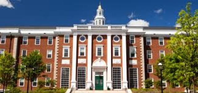 Harvard Established