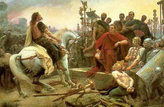 Guerra de las Galias en 58 a.C.