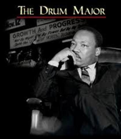 """Drum Major Instinct"" Speech"