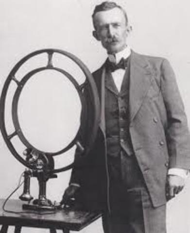 Nathan B. Stubblefield and his wireless telephone