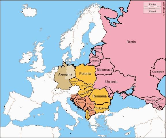 Fin de la guerra fría, desintegracion de la URSS
