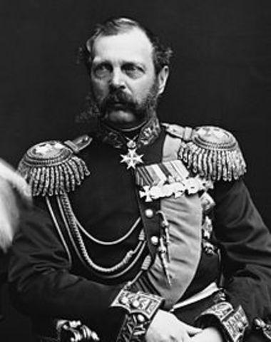 Czar Alexander Assassinated